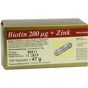 Zink und Biotin Kapseln gegen Haarausfall